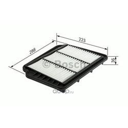 Воздушный фильтр (Bosch) F026400163