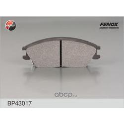 КОЛОДКИ ТОРМОЗНЫЕ ДИСКОВЫЕ FENOX (FENOX) BP43017