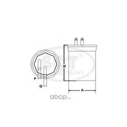 Топливный фильтр (SCT) ST6095