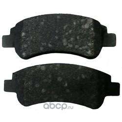 Колодки тормозные дисковые передние комплект (Dextrim) IK0610069