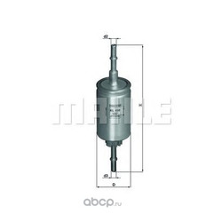 Топливный фильтр (Mahle/Knecht) KL458