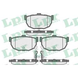 Комплект тормозных колодок, дисковый тормоз (Lpr) 05P089
