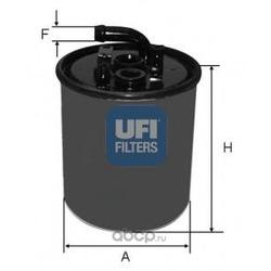 Топливный фильтр (UFI) 2441600