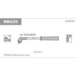 Комплект проводов зажигания (Janmor) RBU25