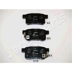 Колодки тормозные дисковые задние, комплект (Japanparts) PP410AF