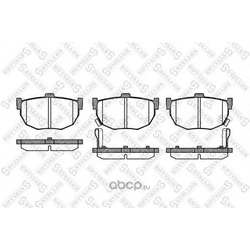Комплект тормозных колодок (Stellox) 305032SX