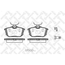 Комплект тормозных колодок (Stellox) 616012SX
