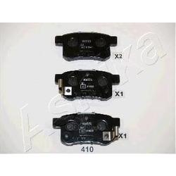 Колодки тормозные дисковые задние, комплект (Ashika) 5104410