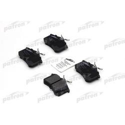 Колодки тормозные дисковые задние (PATRON) PBP541