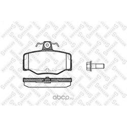 Комплект тормозных колодок (Stellox) 354000BSX