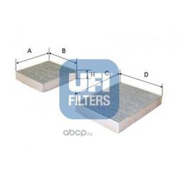 Фильтр, воздух во внутренном пространстве (UFI) 5416400