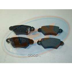 Колодки тормозные дисковые задние (Lex) 23258