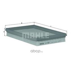 Воздушный фильтр (Mahle/Knecht) LX687