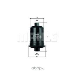Топливный фильтр (Mahle/Knecht) KL522