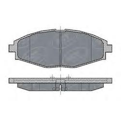 Колодки торм.FR (SCT) SP213