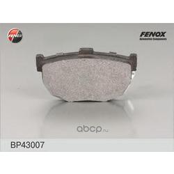 Комплект тормозных колодок, дисковый тормоз (FENOX) BP43007