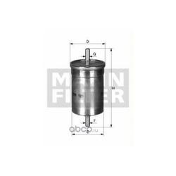 Топливный фильтр (MANN-FILTER) WK6002