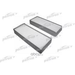 Фильтр салона (к-кт 2шт) Hyundai Sonata 2.0/2.7 V6 01-04, Santa Fe 01- (PATRON) PF2256