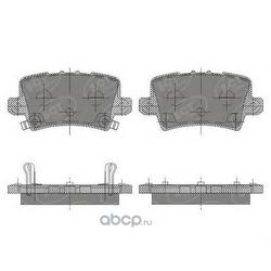 Колодки торм.FR (SCT) SP644