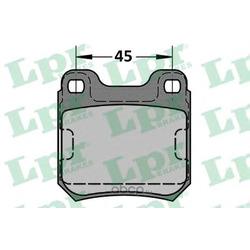 Комплект тормозных колодок, дисковый тормоз (Lpr) 05P334