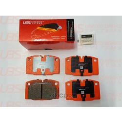 Колодки тормозные, комплект, передние (UBS) B1104017