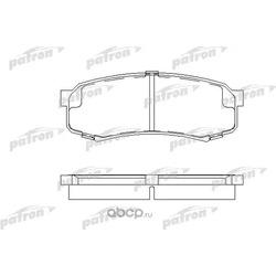 Колодки тормозные дисковые задние (PATRON) PBP1021