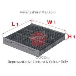 Фильтр салона угольный (Sakura) CAC1606