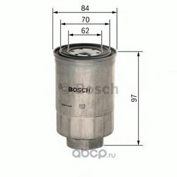 Топливный фильтр (Bosch) 1457434443