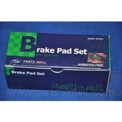 Комплект тормозных колодок (Parts-Mall) PKB017