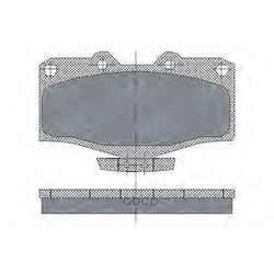 Колодки торм.FR (SCT) SP160