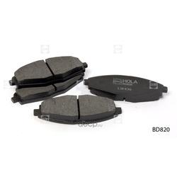 Колодки дисковые (HOLA) BD820