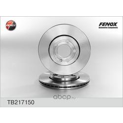 Диск тормозной передний (FENOX) TB217150