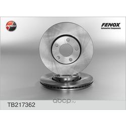 Диск тормозной передний (FENOX) TB217362
