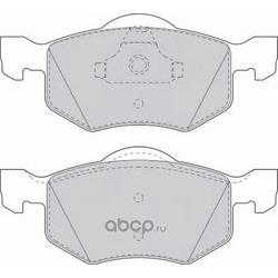 Задние тормозные колодки (Ferodo) FDB1571