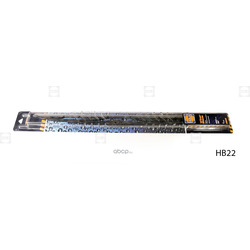 Щетка стеклоочистителя каркасная Basic (HOLA) HB22