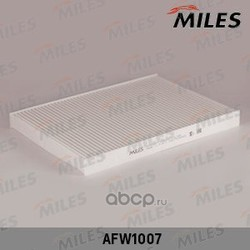 Фильтр салона AUDI A3/TT 96-/SKODA OCTAVIA 96-/VW G3/G4/PASSAT (Miles) AFW1007
