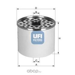 Топливный фильтр (UFI) 2436000