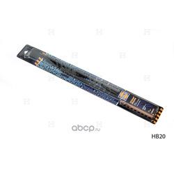 Щетка стеклоочистителя каркасная (HOLA) HB20