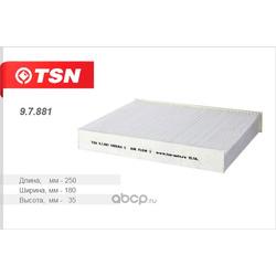Фильтр салона (TSN) 97881