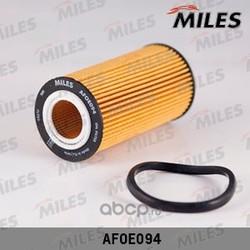 Фильтр масляный AUDI A3/A4/TT/SKODA OCTAVIA/VW G5/PASSAT 2.0/2.5 03- (Miles) AFOE094