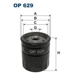 Фильтр масляный Filtron (Filtron) OP629