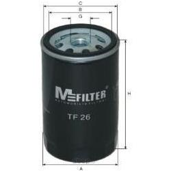 Фильтр масляный (M-Filter) TF26