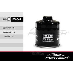 Фильтр масляный (Fortech) FO049