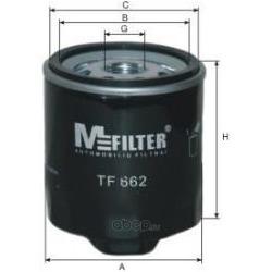 Фильтр масляный (M-Filter) TF662