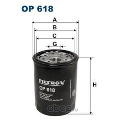 Фильтр масляный Filtron (Filtron) OP618