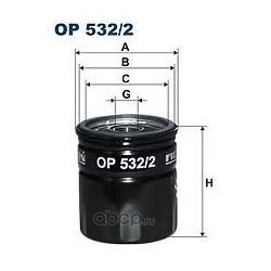 Фильтр масляный Filtron (Filtron) OP5322