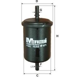 Фильтр топливный (M-Filter) BF671