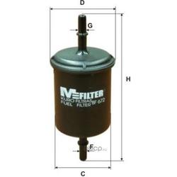Фильтр топливный (M-Filter) BF672