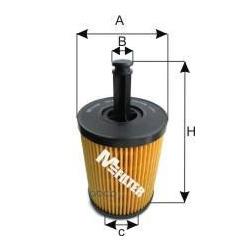 Фильтр масляный (M-Filter) TE621