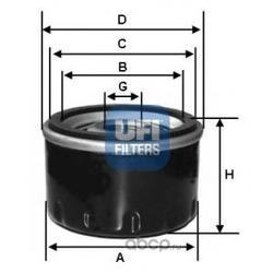 Масляный фильтр (UFI) 2341300
